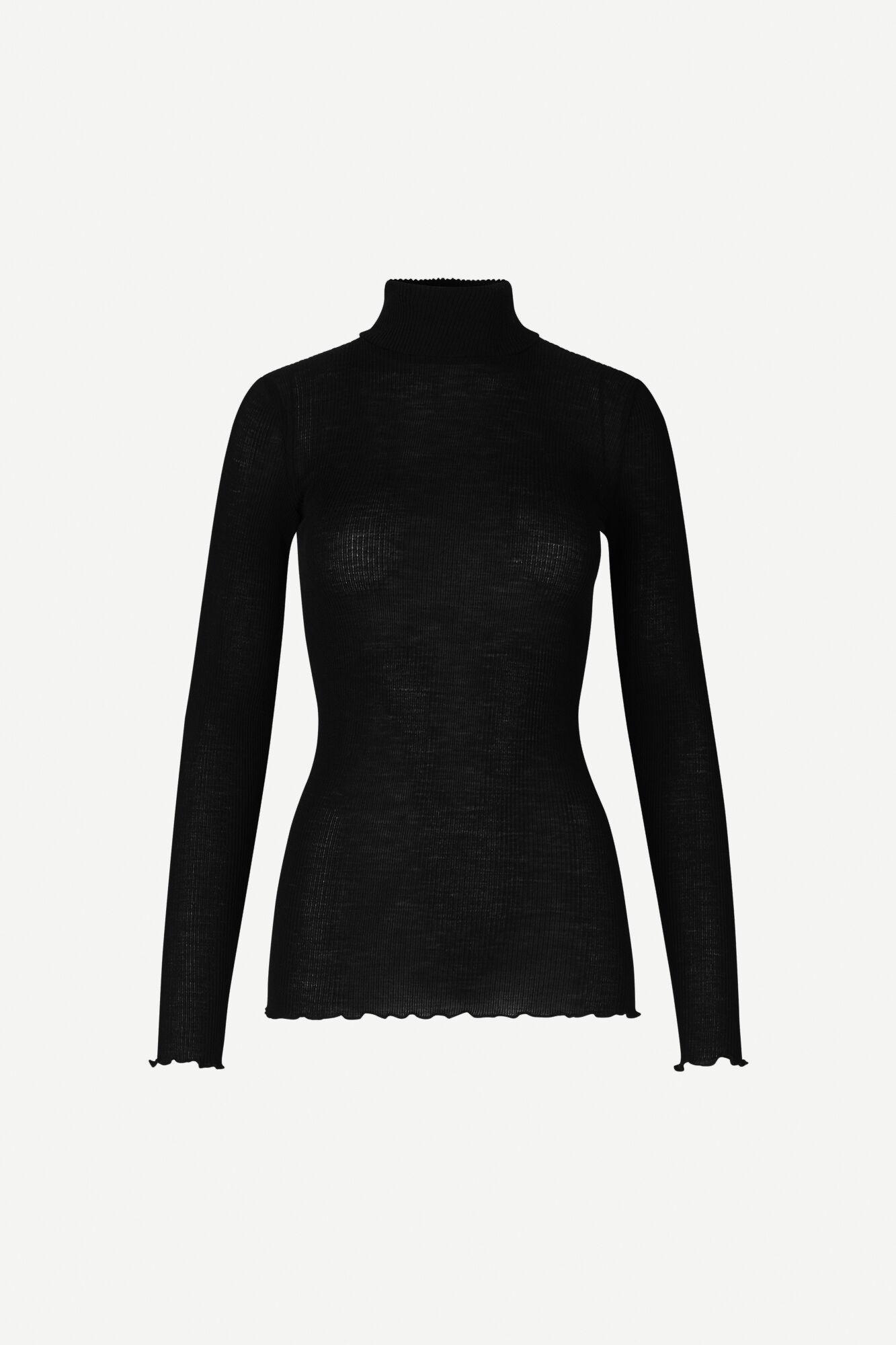Cupidon t-n t-shirt ls 13020, BLACK
