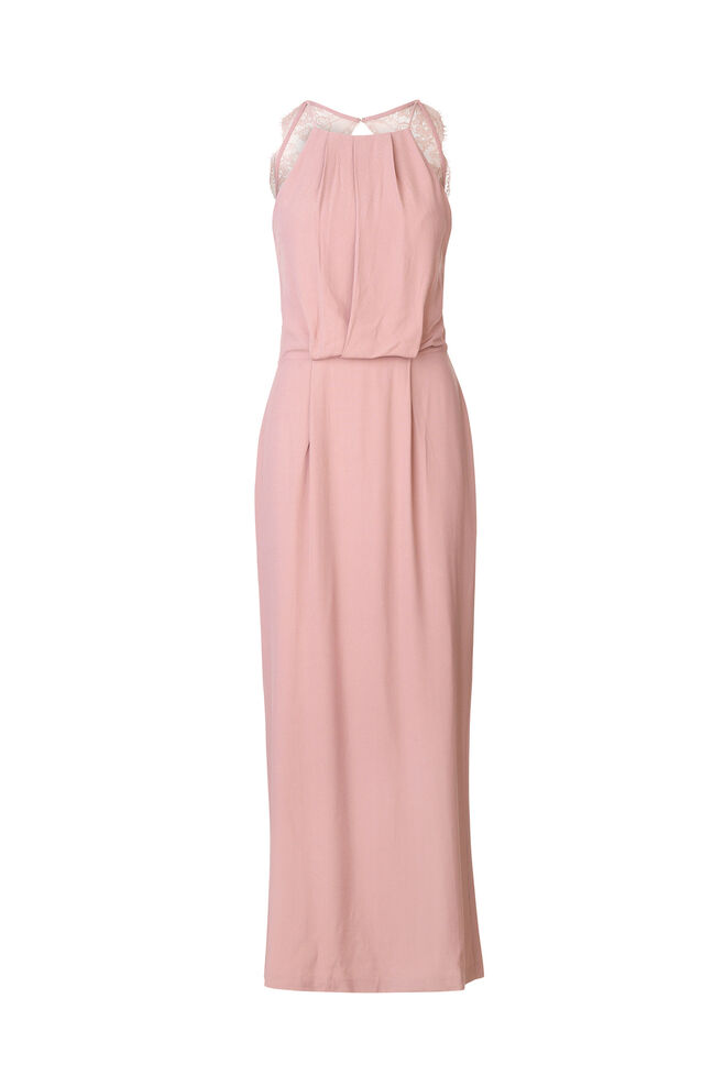 Willow dress long 5687, WOODROSE