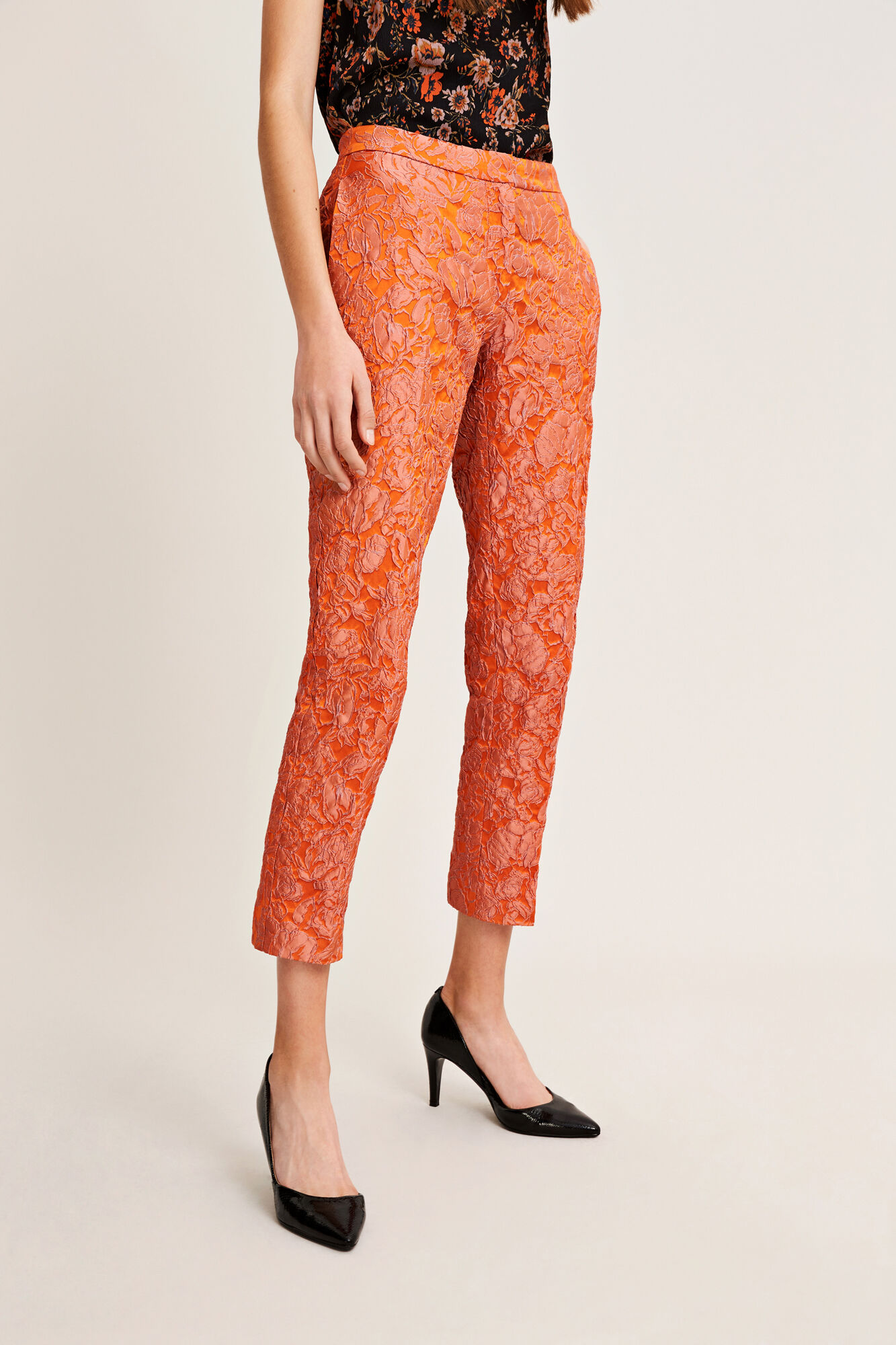 Cybill pants 9712, PUFFINS ROSE