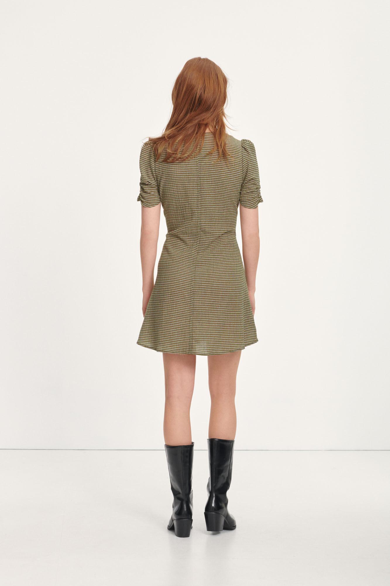 Young short dress 12788, DARK OLIVE ST.