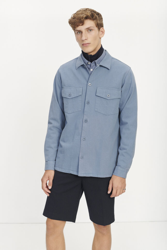 Luccas N shirt 11383, BLUE MIRAGE