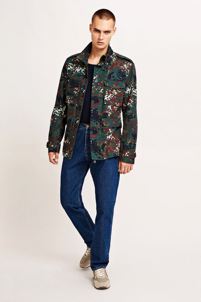 Mackle jacket 9452, PLUM DOTCAMO AOP