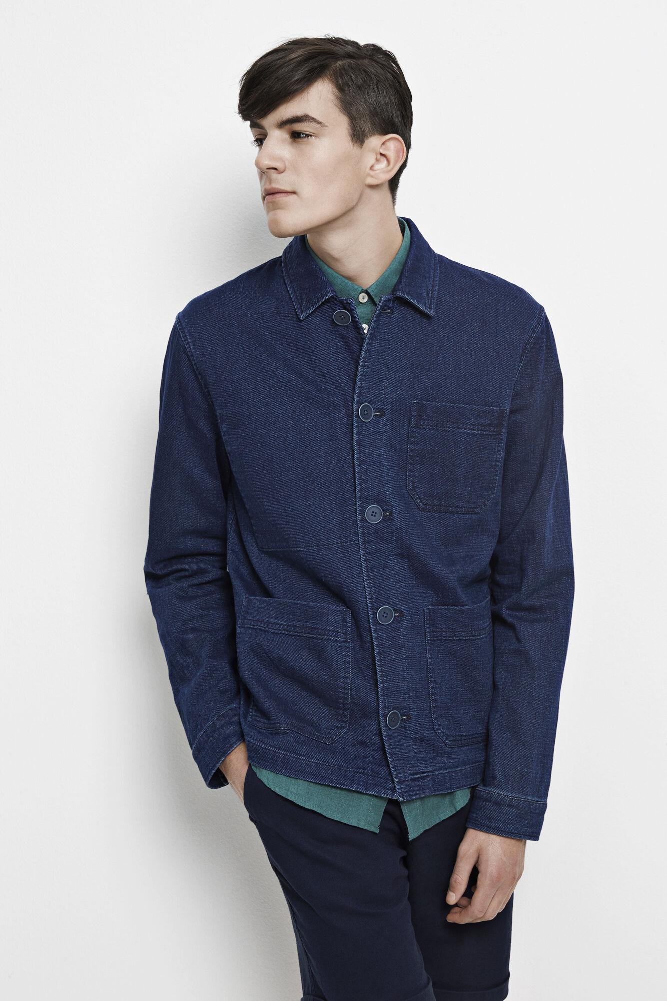 Worker jacket 7748, INDIGO RINSE