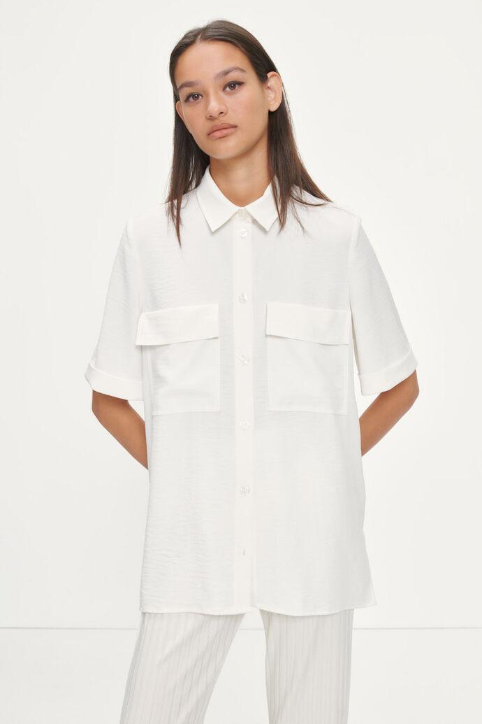 Camila ss shirt 12909, EGGNOG