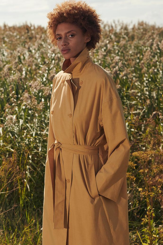 Lucille trenchcoat 13152, CURRY