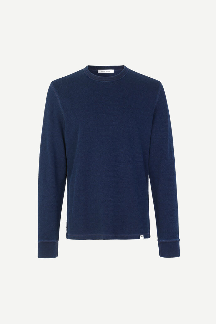 Stavso t-shirt ls 11569, INDIGO