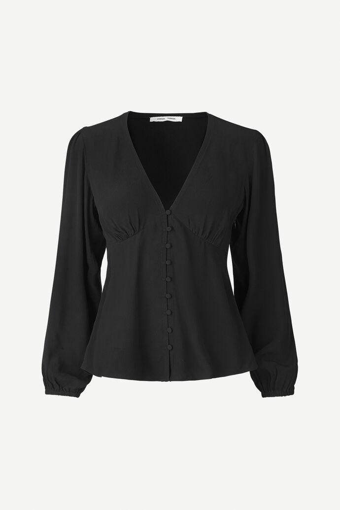 Petunia blouse 10056, BLACK
