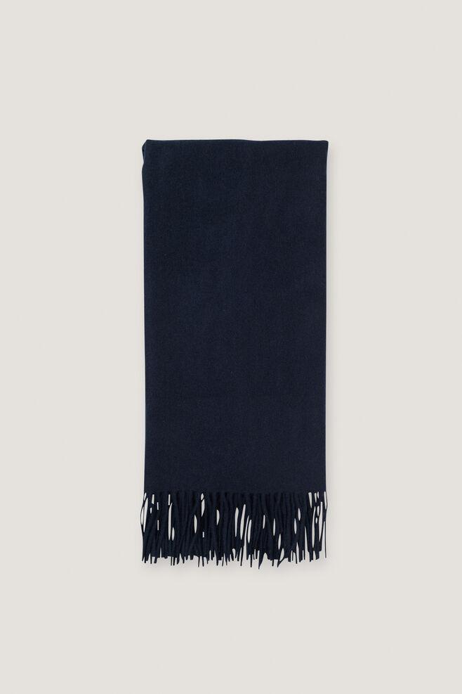 Thilde scarf 5717, DARK SAPPHIRE