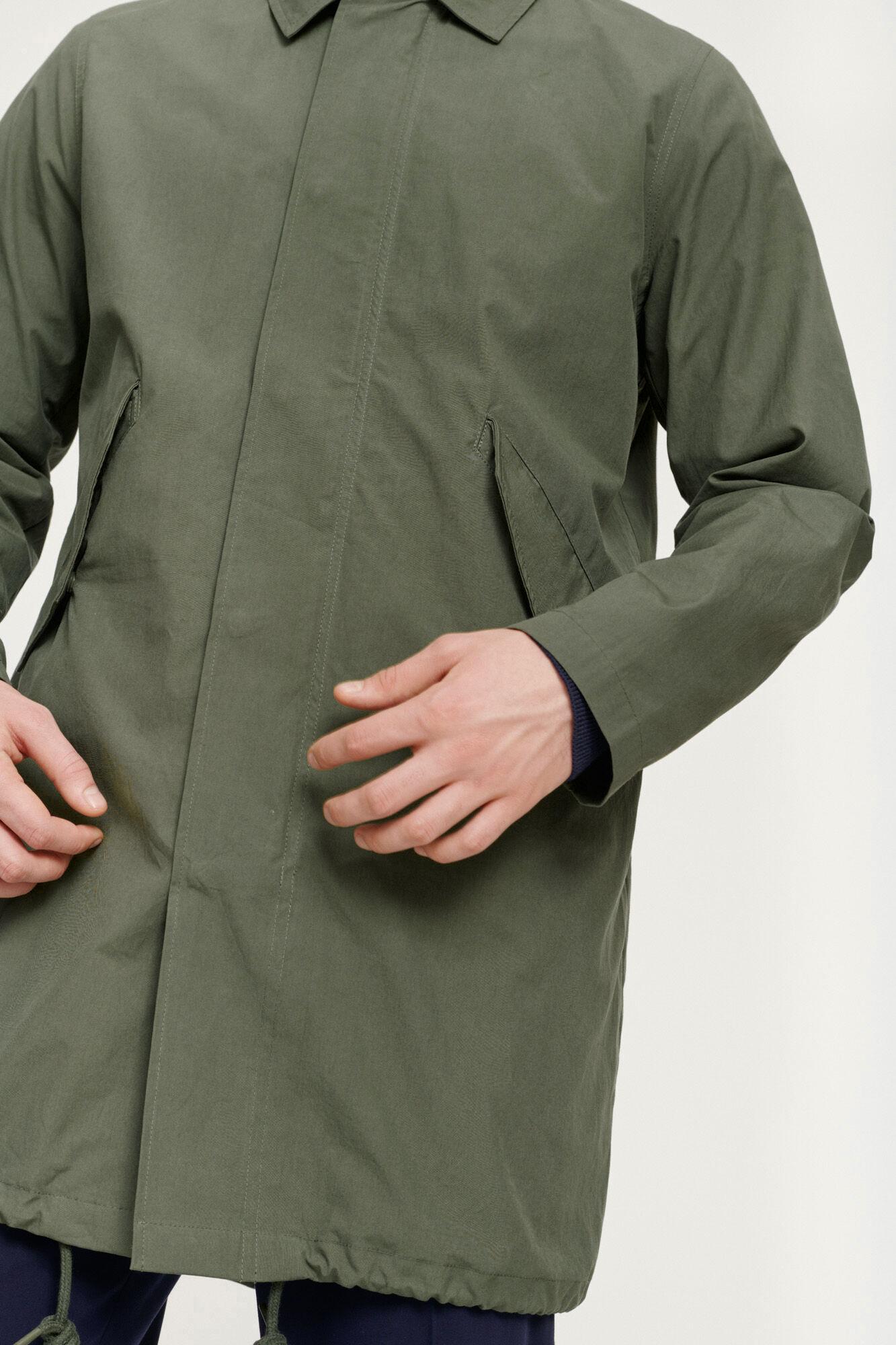 Lerum coat 11527, THYME