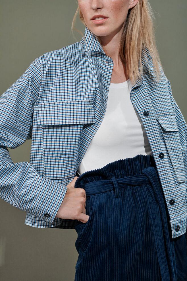Kirstina check jacket 10814