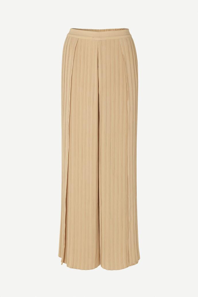 Myllow plisse trousers 6621, CROISSANT