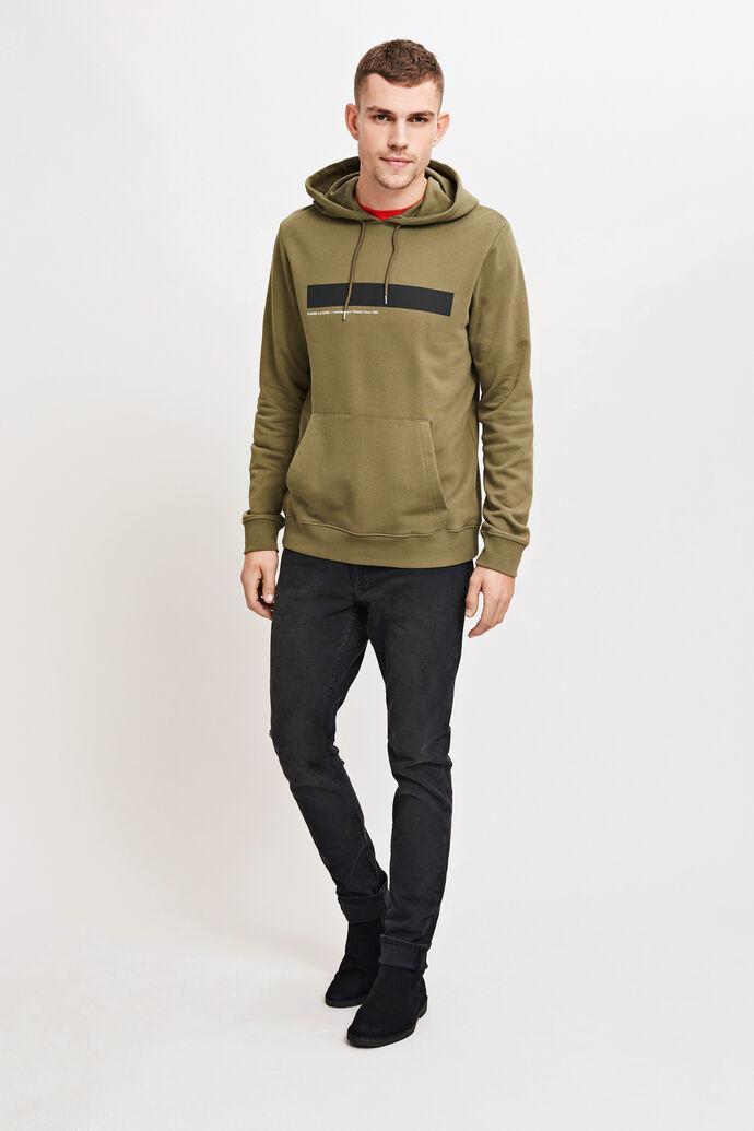 Rapp hoodie 10104, DUSTY OLIVE
