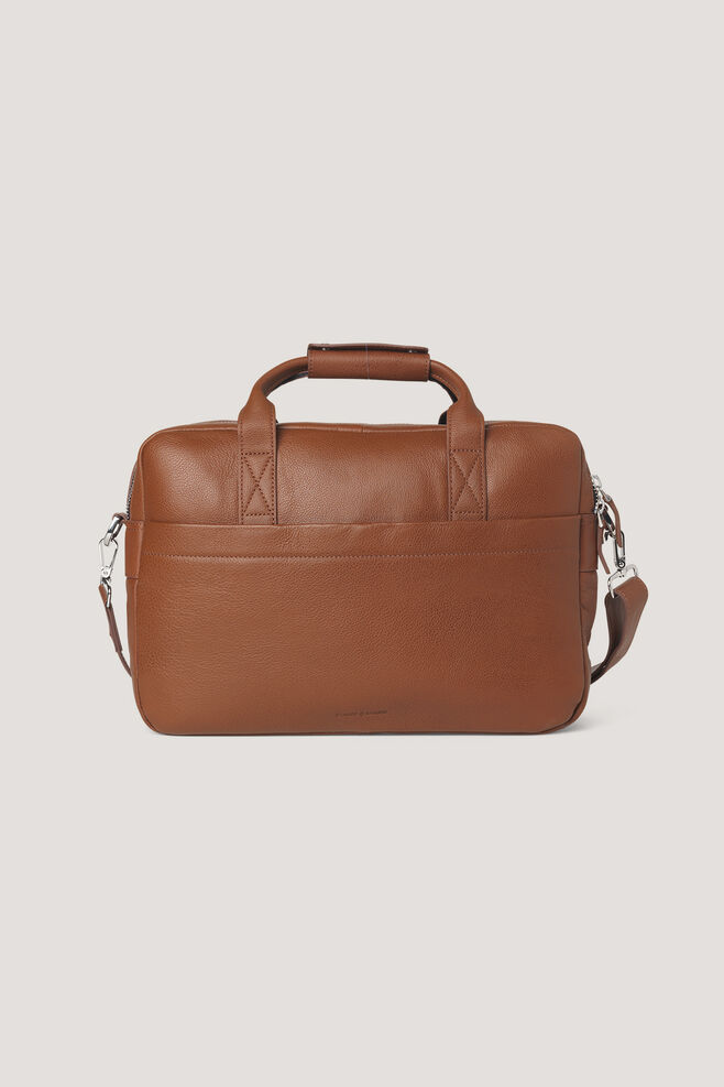 Miro briefcase double 3338, COGNAC
