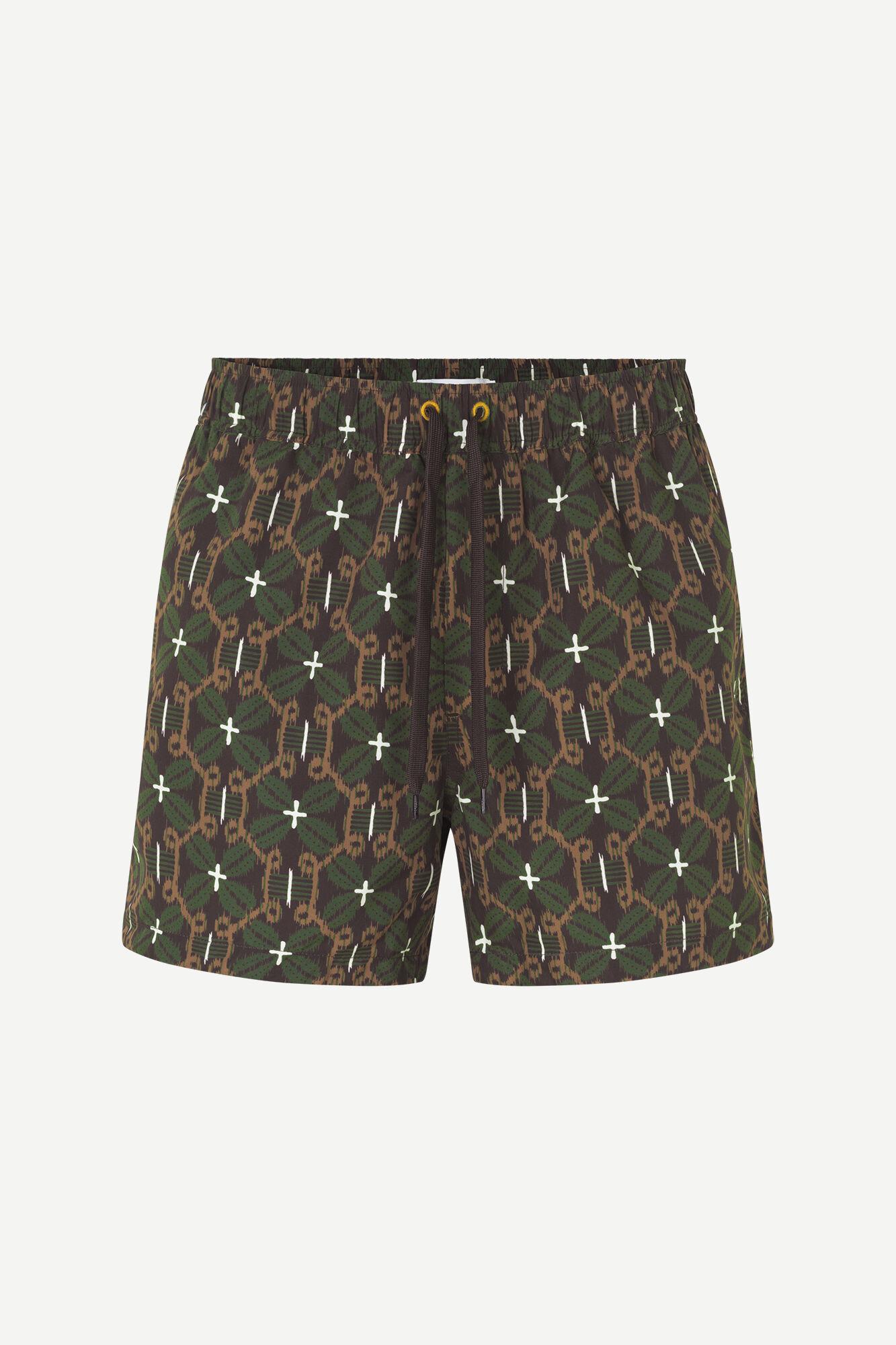 Mason swim shorts aop 13082, CHOCOLATE SALABA