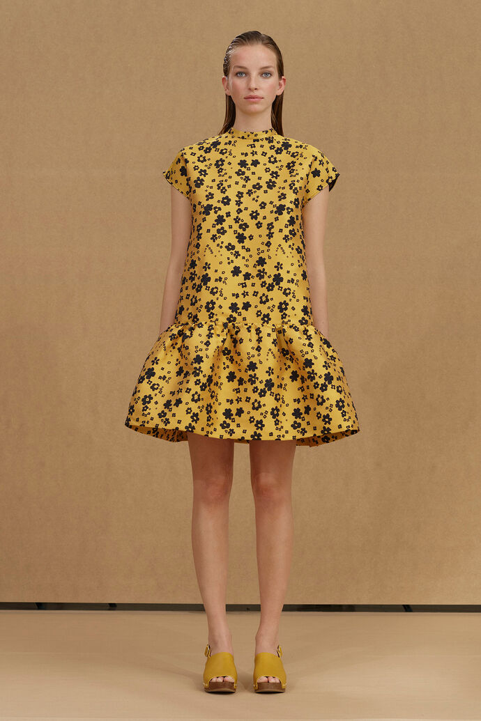 Rose short dress 12691