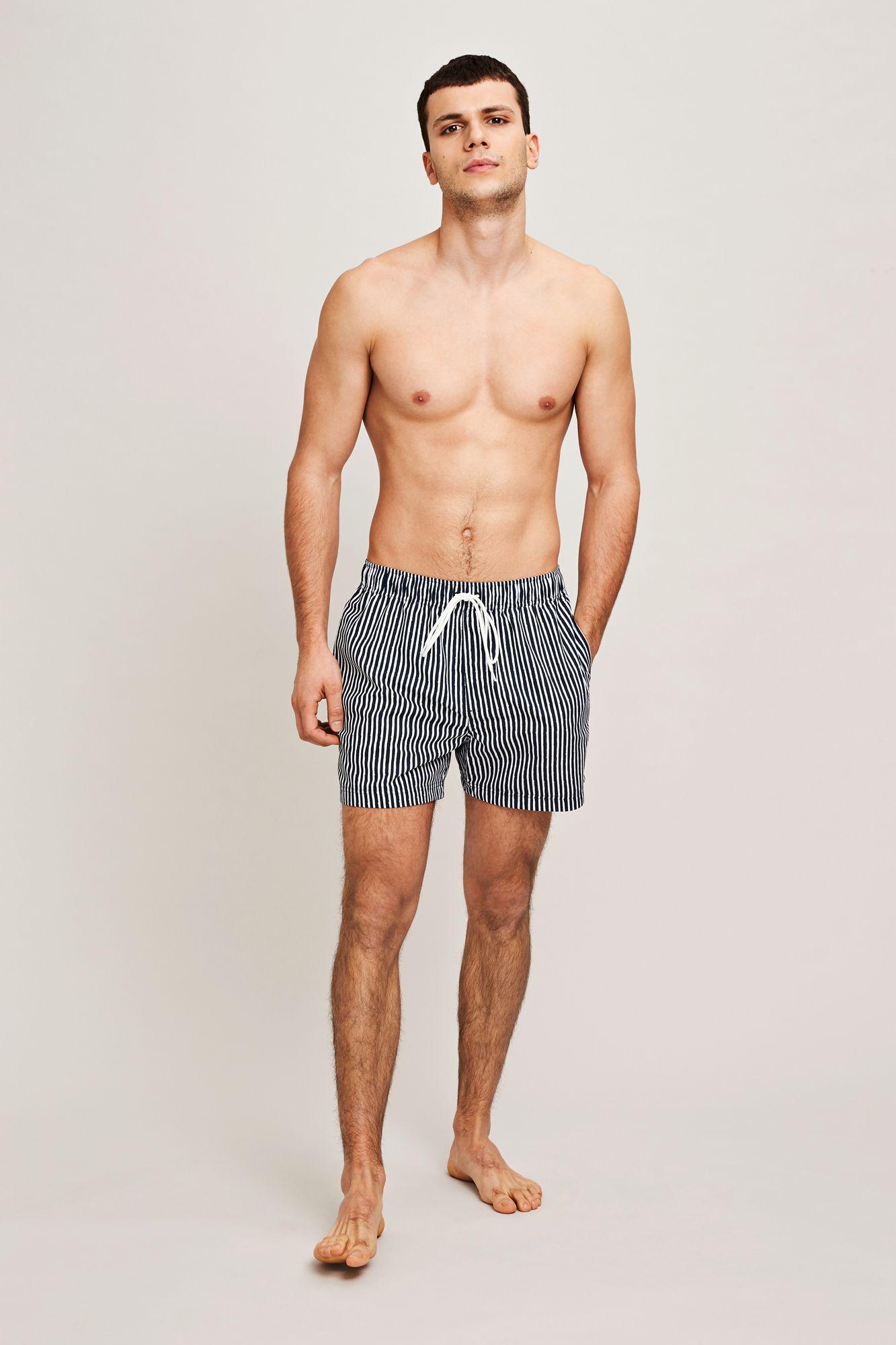 Mason swim shorts aop 6956, BLUE PAPER ST