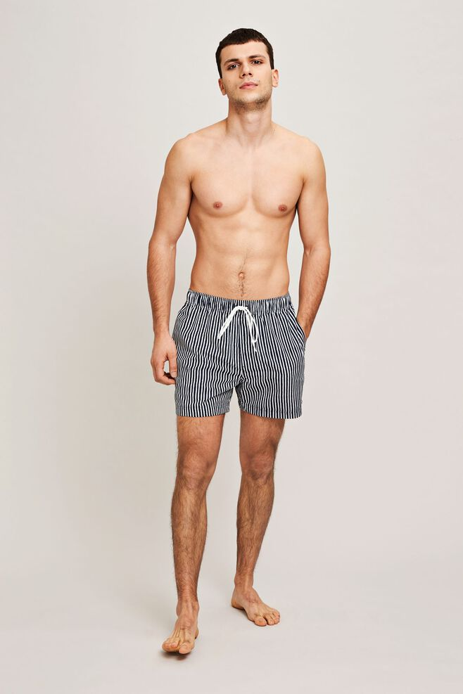 Mason swim shorts aop 6956, BLUE PAPER ST