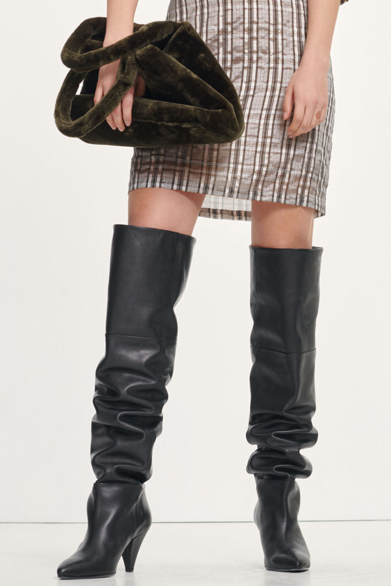Myrassa boot knee 7556