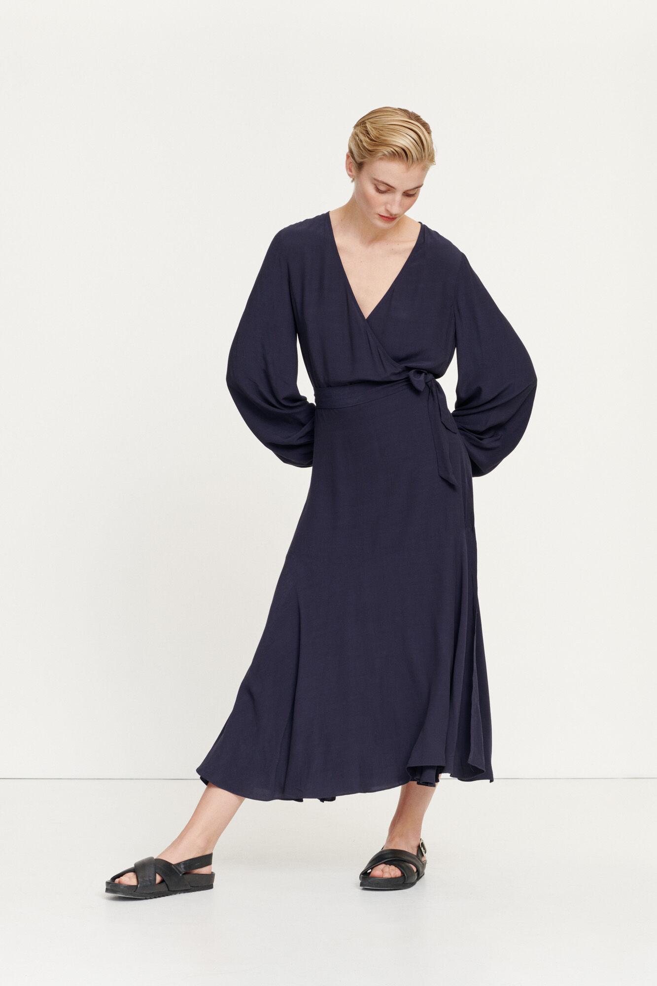 Kleva long dress 10864, NIGHT SKY