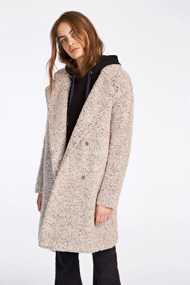 Mildred jacket 6182, SAND GREY MEL.