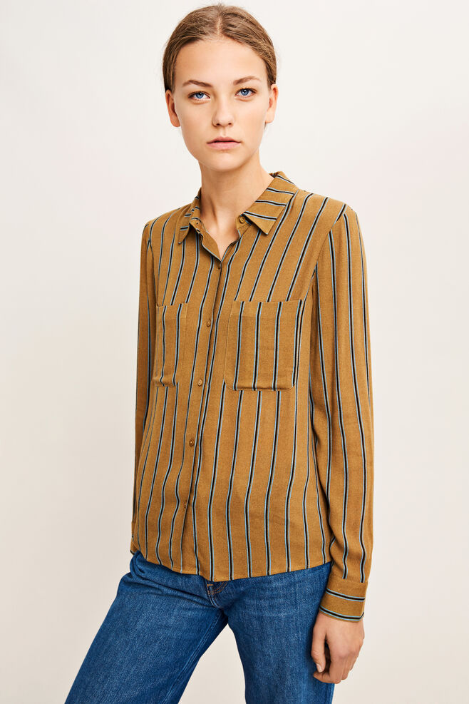 Milly shirt aop 7201, ANTIQUE ST