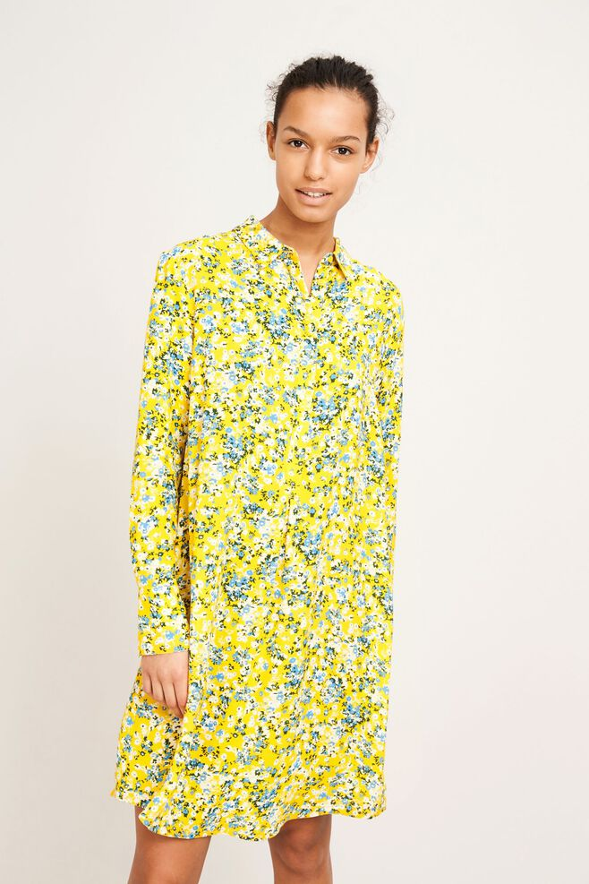 Hamiti shirt dress aop 9949, SOLEIL JARDIN