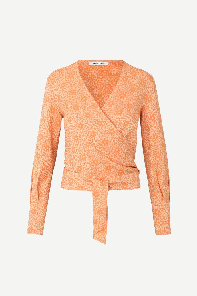 Luna blouse 11402, CORAL FLOWER