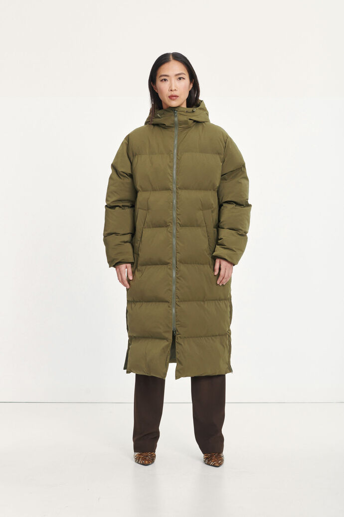 Sera coat 12891, DARK OLIVE