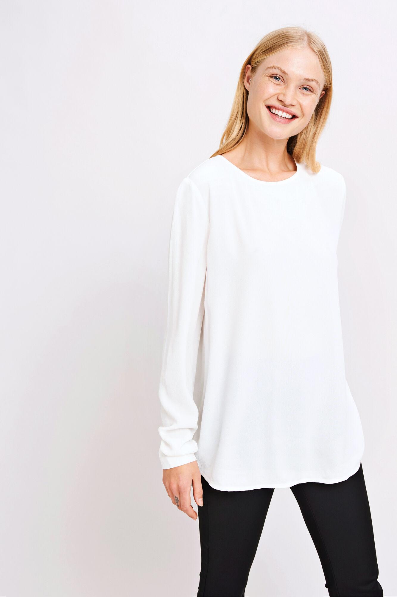 Theta blouse 5687, CLEAR CREAM