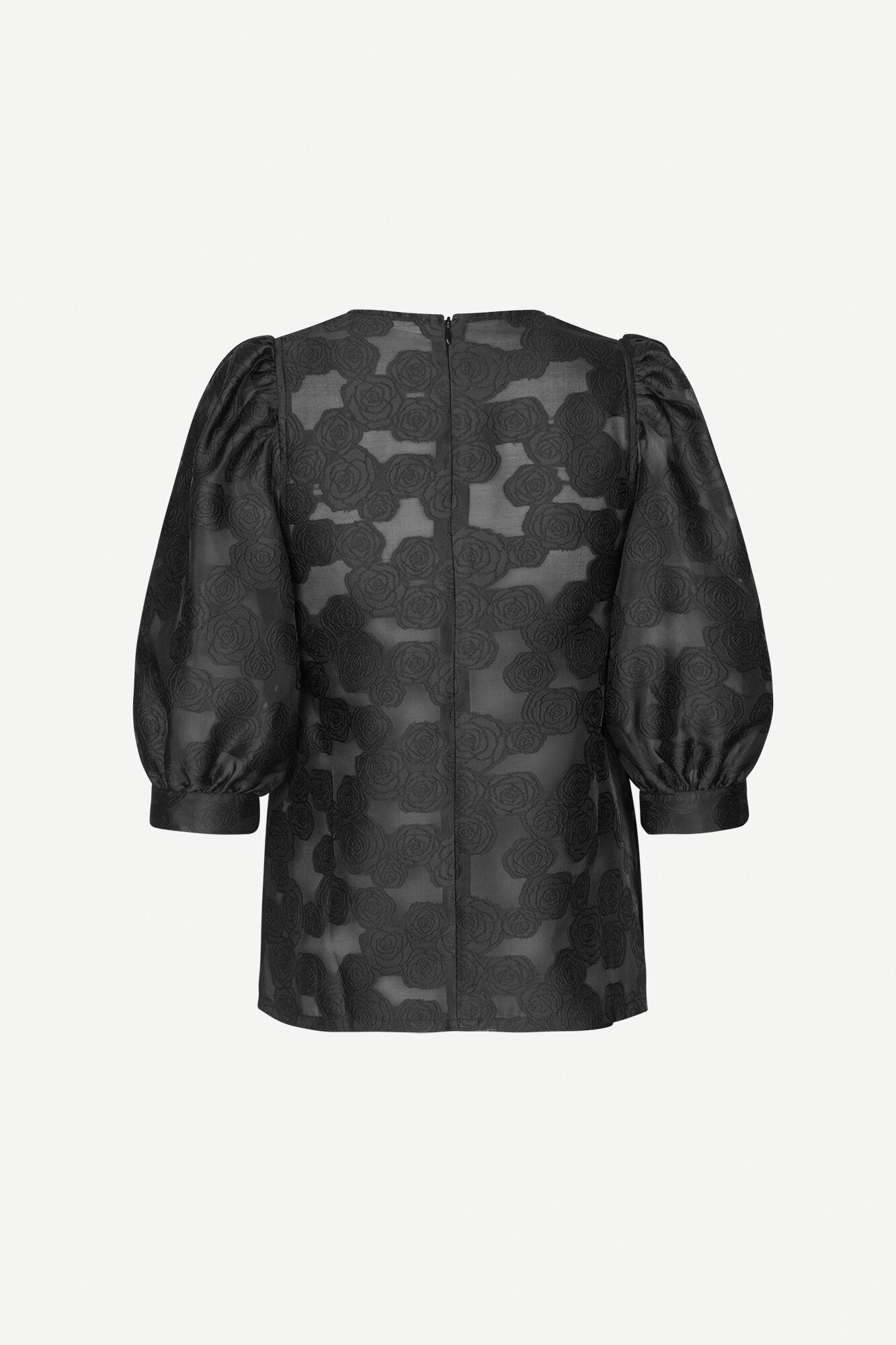 Celestina blouse 12939, BLACK
