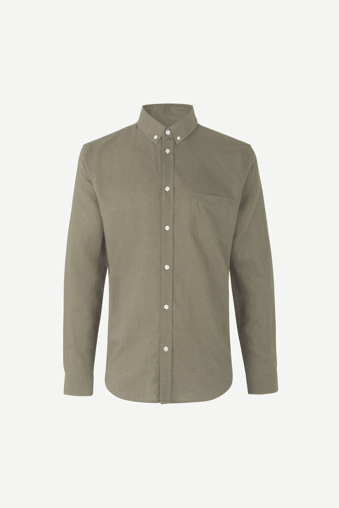 Liam BA shirt 6971, DEEP LICHEN GREEN
