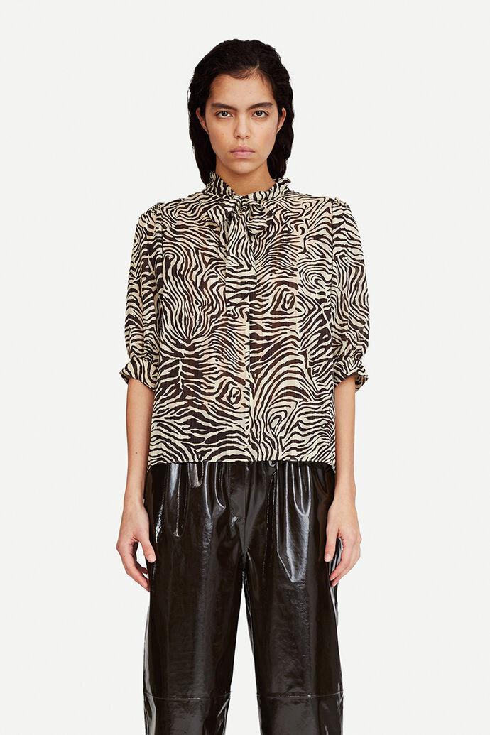 Dorothe ss blouse aop 14018