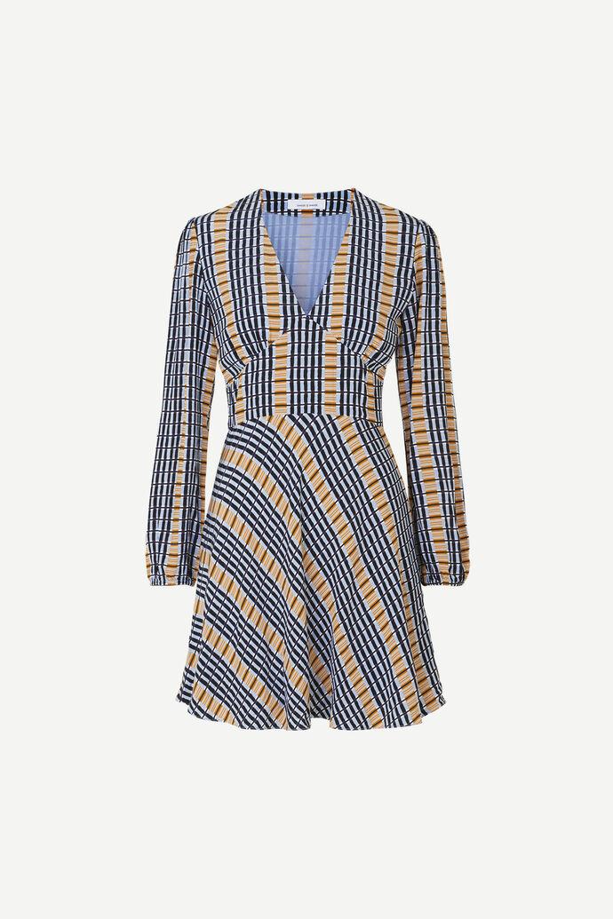 Cindy short dress ls aop 6515