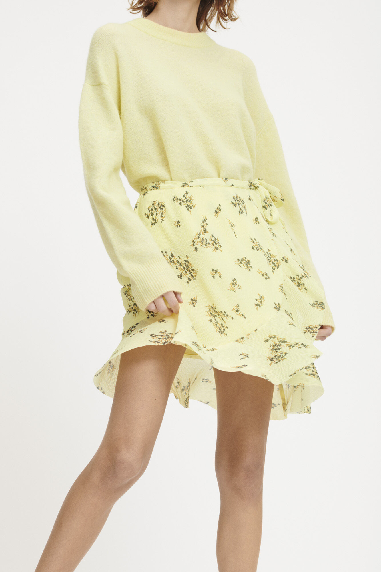 Limon s wrap skirt aop 9699