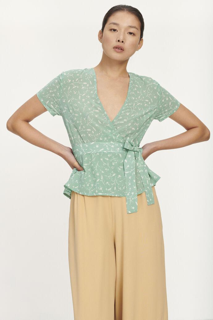 Klea ss blouse aop 6621