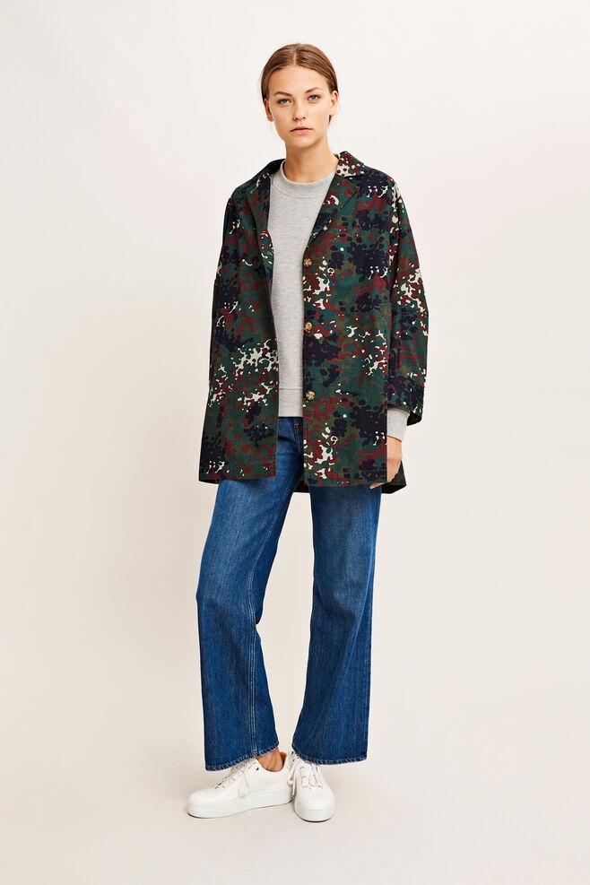 Posy jacket aop 9452, PLUM DOTCAMO