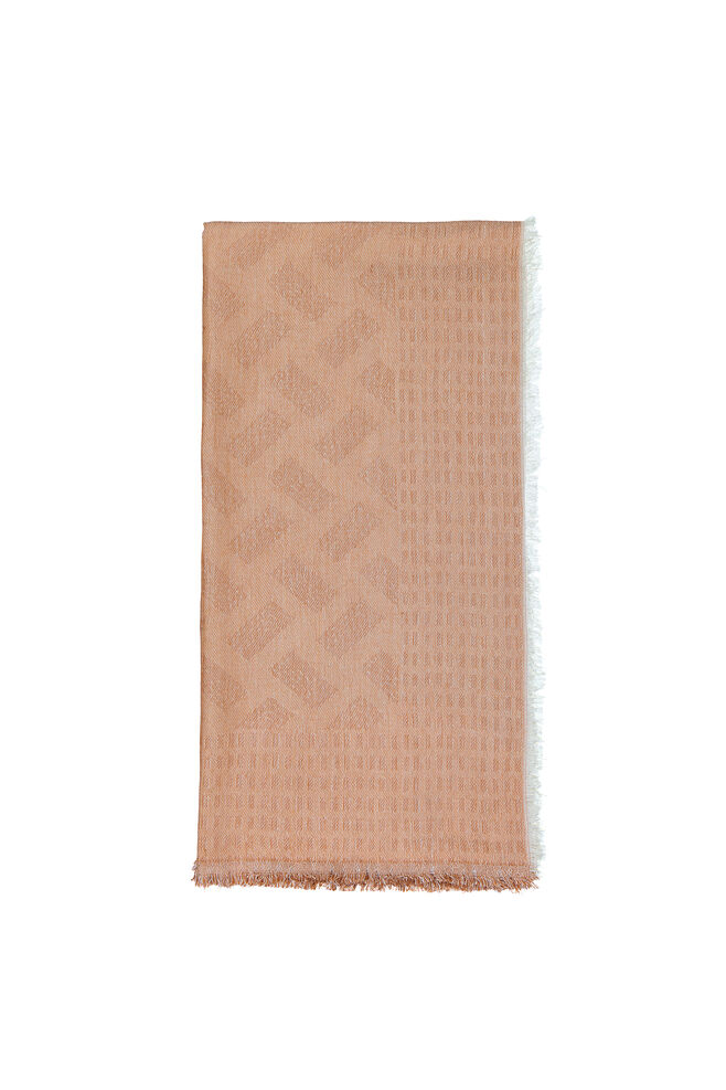 Shilo scarf 6613, BROWN PATINA
