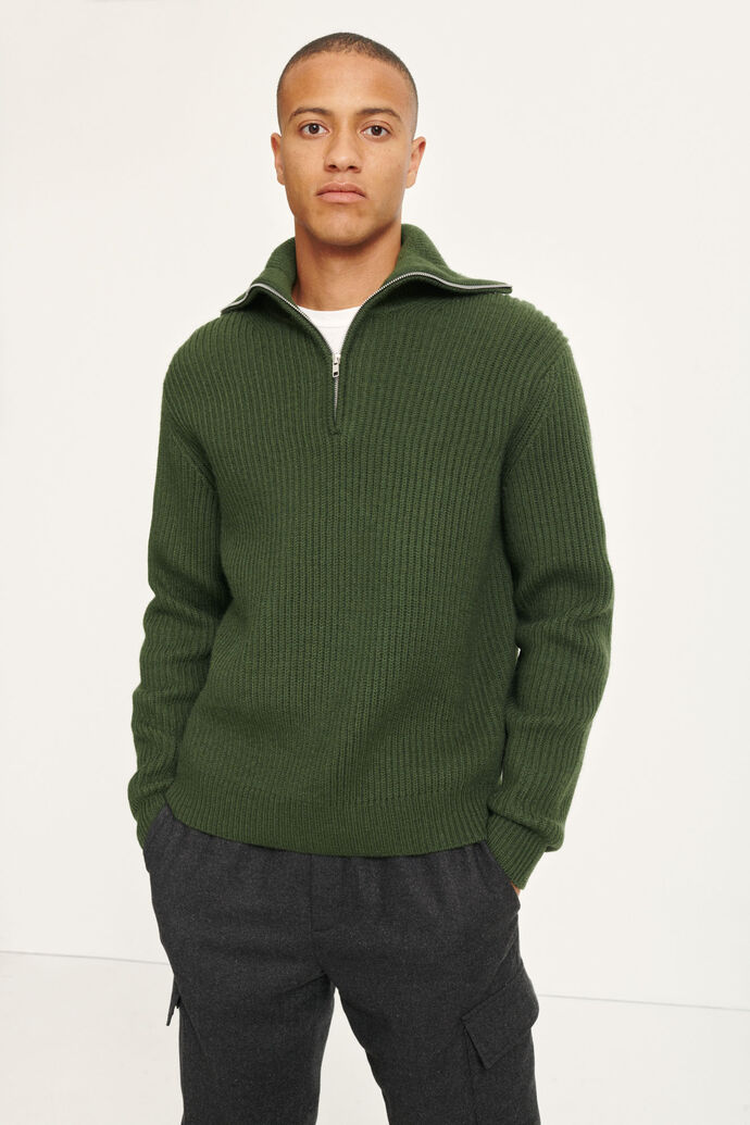 Neil turtle neck zip 11091