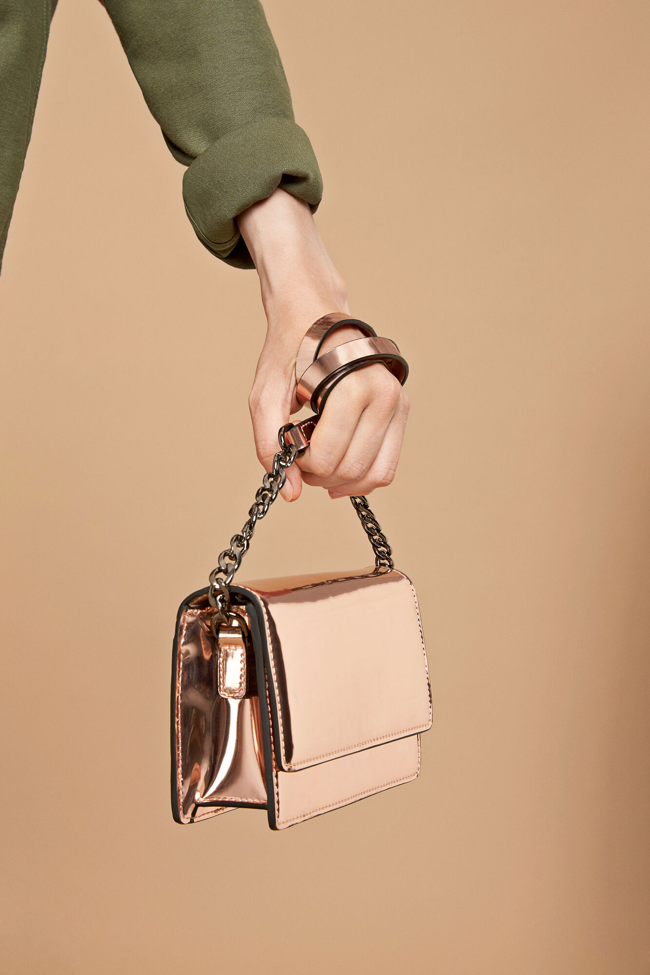 Elodie bag 9443, ROSE GOLD