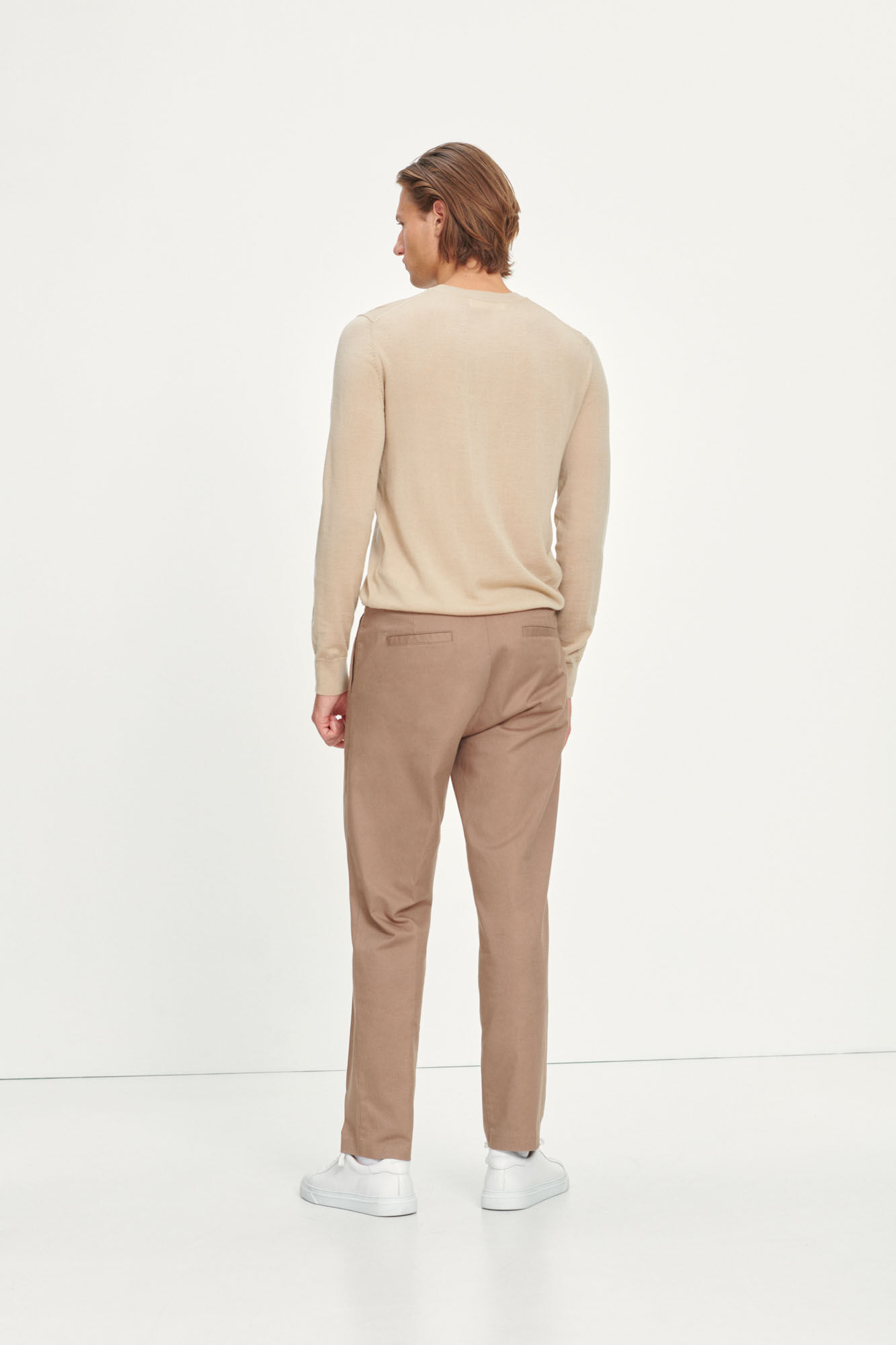 Lincoln wide trousers 10942, CARIBOU