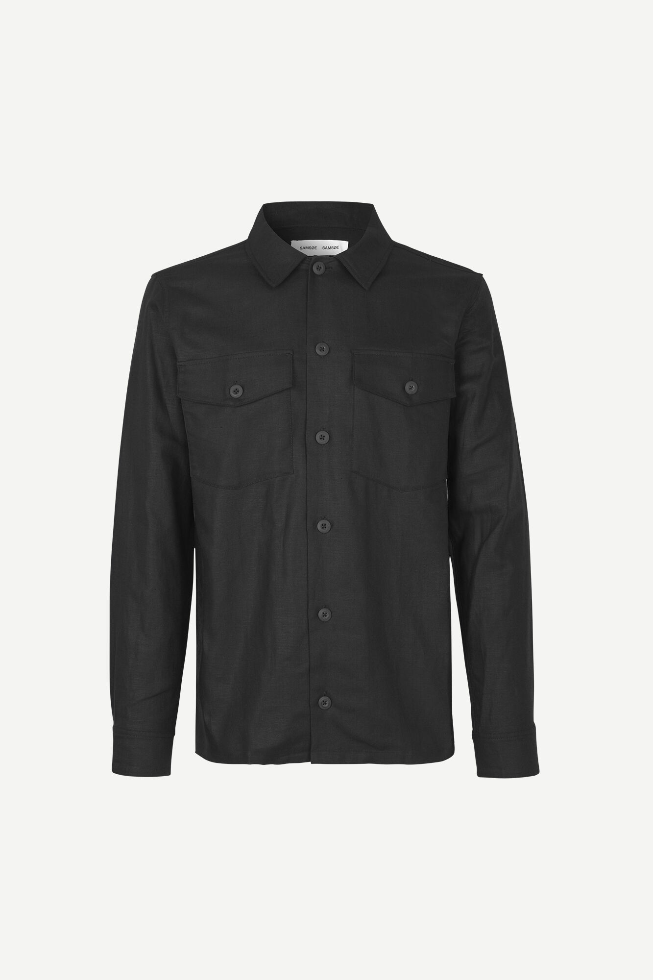 Luccas N shirt 11535, BLACK