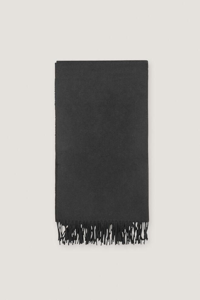 Thilde scarf 5717, BLACK