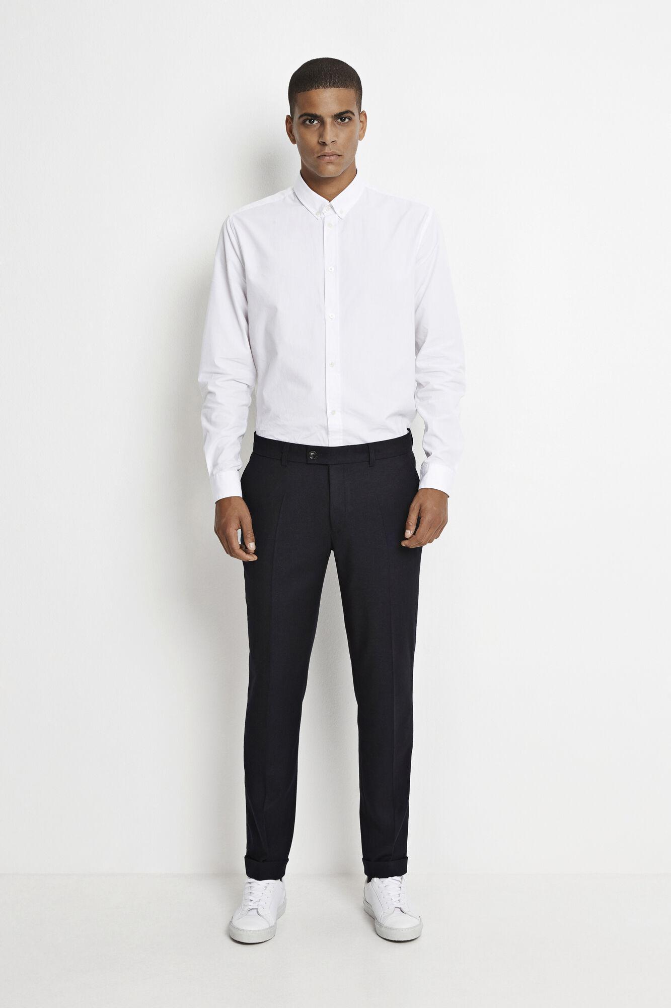 Laurent pants fold up 7390