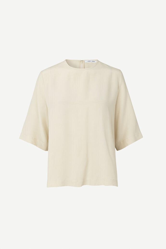 Isabel blouse ss 11464, WARM WHITE