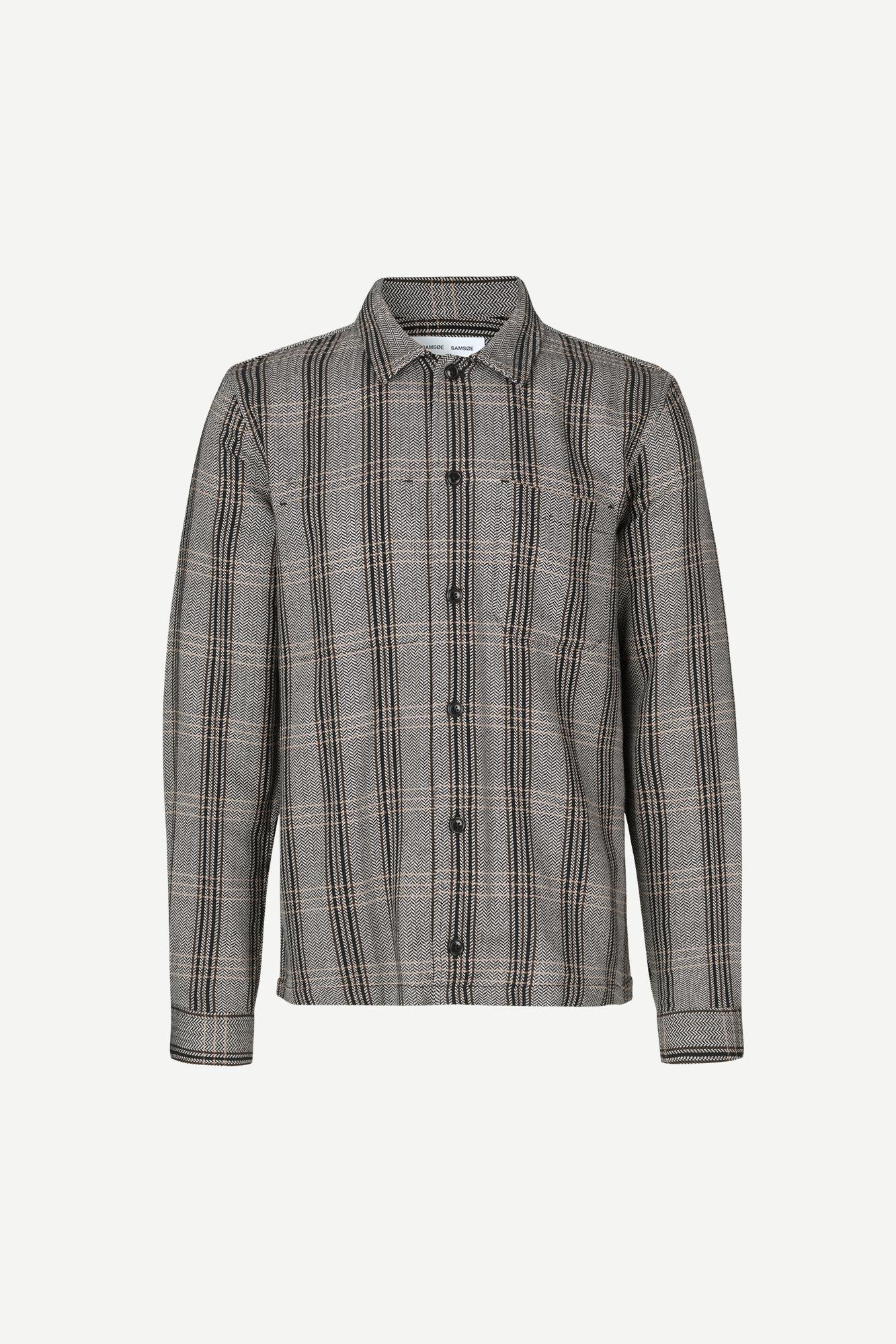 Ruffo JC shirt 11381, BLACK
