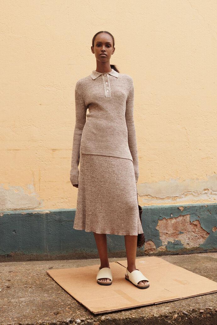 Bonnie skirt 12933, CARIBOU MEL.