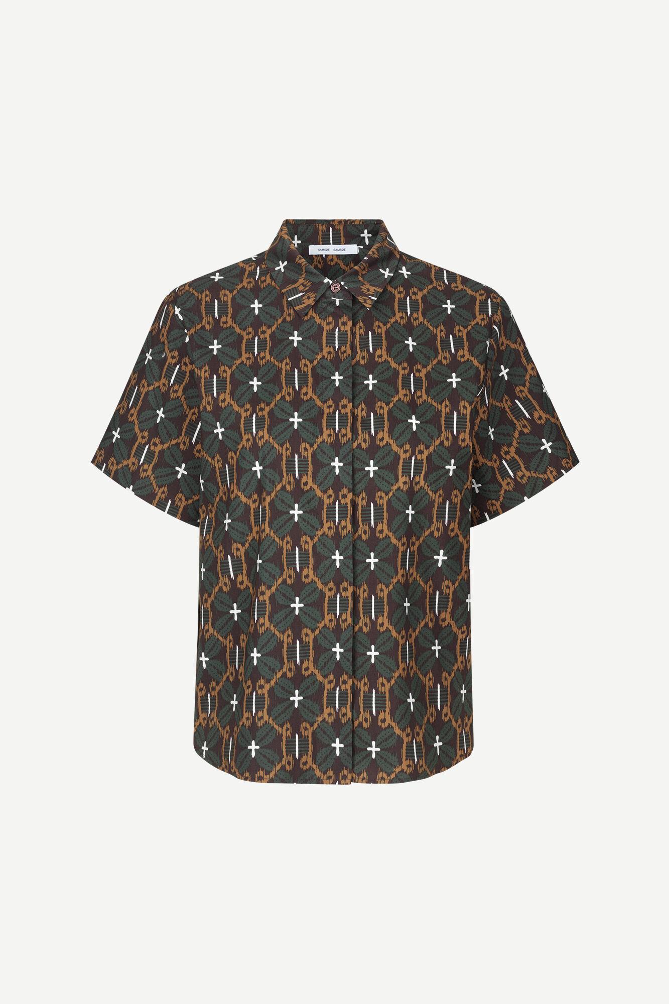 Mina ss shirt aop 10783
