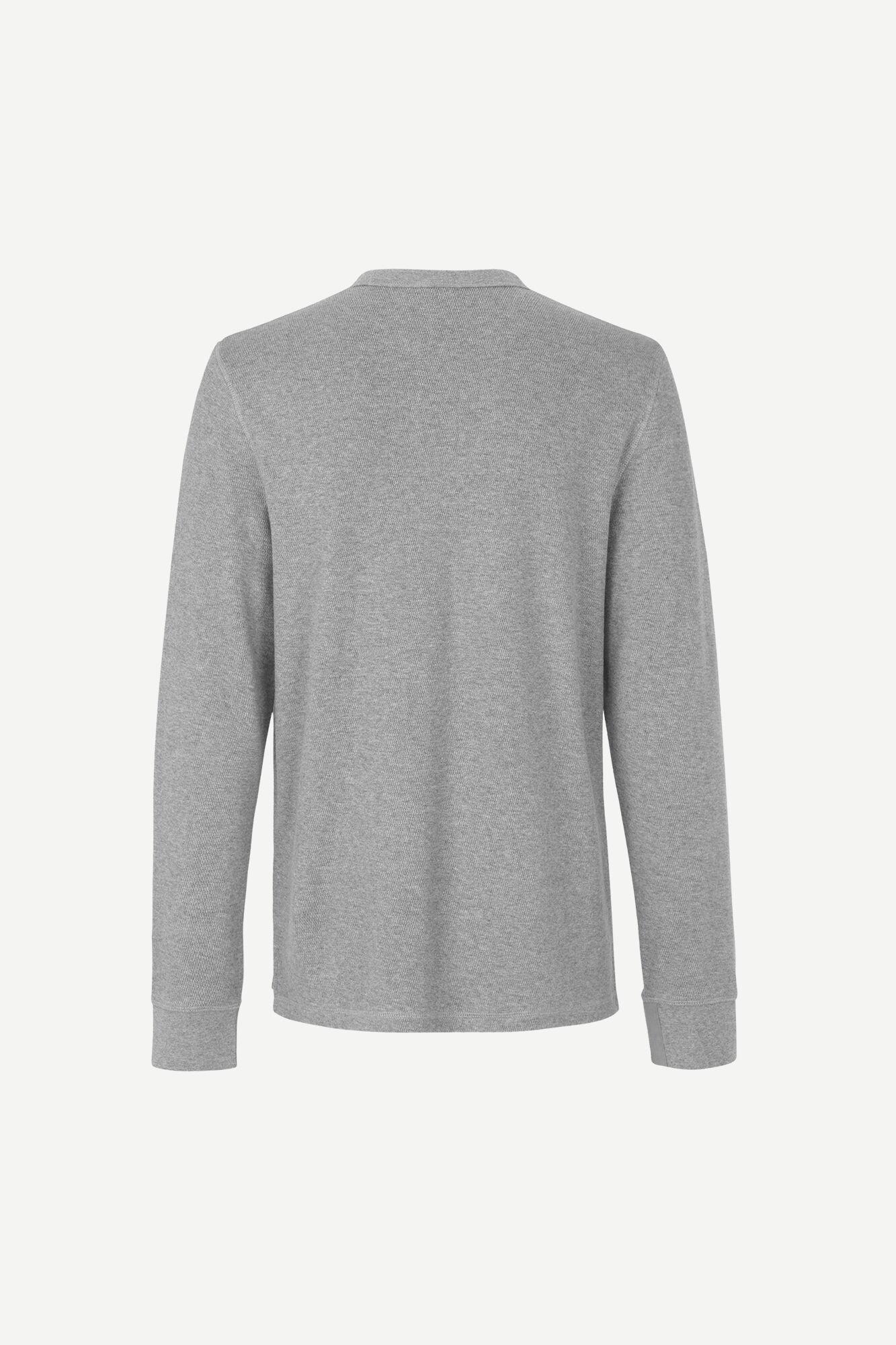 Stavso t-shirt ls 11569, GREY MEL.