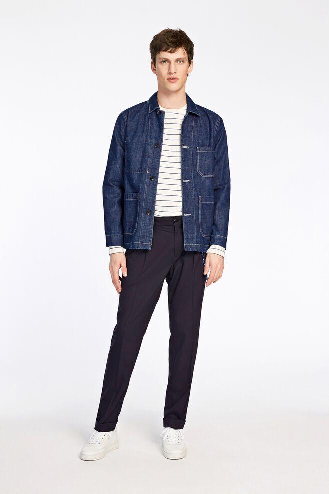 Worker jacket 9343, PURE INDIGO