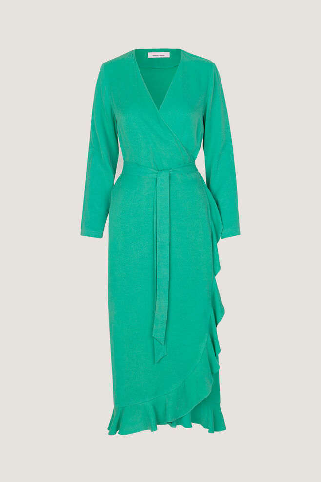 Limon l wrap dress 9941